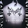 Mayhem - Dødsarkiv book - signed by Necrobutcher and Hellhammer Other Collectable