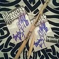 Inquisition - dedicated drumstick and signatures Other Collectable