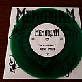 "Memoriam - The Hellfire demos II 7"" (green) - signed Tape / Vinyl / CD / Recording etc"