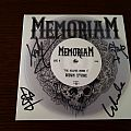 "Memoriam - The Hellfire demos II 7"" (clear) - signed Tape / Vinyl / CD / Recording etc"