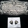 Memoriam - picks + signature from Karl Willetts Other Collectable