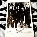 Mayhem - signed postcard Other Collectable