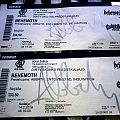 Abbath - 2x signed tickets + Abbath's private email