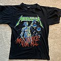 Metallica - ...And Justice For All tour '88 TS TShirt or Longsleeve
