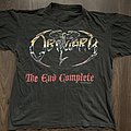 Obituary - The End Complete European Tour 1992 TShirt or Longsleeve