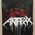 Anthrax vintage backpatch