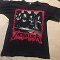 Metallica - band / Europe tour '90 TShirt or Longsleeve