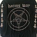 Harms Way - baphomet / Satan is finally here longsleeve