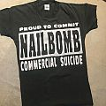 Nailbomb - Proud to Commit Commercial Suicide shirt