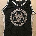 Biohazard vintage basketball jersey TShirt or Longsleeve