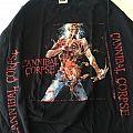 Cannibal Corpse - Eaten back to life / tour 2002 longsleeve  TShirt or Longsleeve