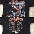 Cannibal Corpse - Tomb Of The Mutilated Euro Tour ´93 shirt