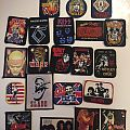 Vintage patches from 80's