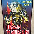 Iron Maiden vintage backpatch