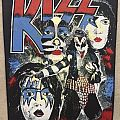 Kiss vintage backpatch