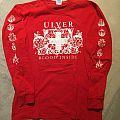 Ulver - Blood Inside red longsleeve TShirt or Longsleeve