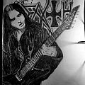 Chuck Schuldiner Sketch Other Collectable