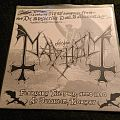 Mayhem - Live In Jessheim LP Tape / Vinyl / CD / Recording etc