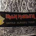 Iron Maiden World Slavery Tour Patch