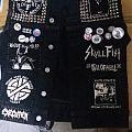 Anarcho Crust Metal Battle jacket