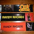 Other Collectable - Vintage Ozzy & Randy Rhoads stickers.