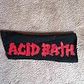 Acid Bath DIY Patch