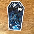 Morbid - December Moon Bootleg Woven Patch(lim. To 80)