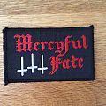 Mercyful Fate - Logo and crosses patch
