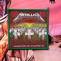 Metallica - Master of Puppets green border Patch