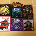 King Diamond - Patch - King Diamond & Mercyful Fate patch collection