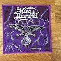 King Diamond - The Eye purple border patch