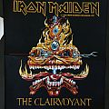Iron Maiden - Patch - Iron Maiden - The Clairvoyant backpatch