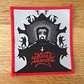 King Diamond - Patch - King Diamond - Fatal Portrait red border patch
