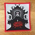 King Diamond - Fatal Portrait red border patch