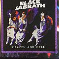 Black Sabbath Heaven and Hell Patch