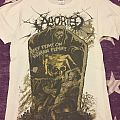 """Aborted """"They feast on human flesh!!"""" Shirt"""