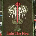 Satan - Into the Fire Woven Patch