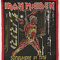 Iron Maiden - Patch - Iron Maiden: Somewhere In Time (Red Border)