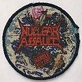 Nuclear Assault - Patch - Nuclear Assault: Handle with Care (Blue Border)