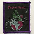 Praying Mantis - Patch - Praying Mantis: Time Tells No Lies (Purple Border)