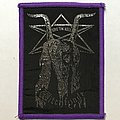 Witchfynde - Patch - Witchfynde: Give 'Em Hell (Purple Border)