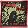 English Dogs - Patch - English Dogs: Metalmorphosis (Red Border)