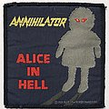 Annihilator: Alice In Hell (Blue Border) Patch