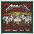 Metallica: Master of Puppets (Green Border) Patch