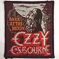 Ozzy Osbourne - Patch - Ozzy Osbourne: Bark at the Moon (Burgundy Border)