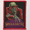 Megadeth - Patch - Megadeth: Peace Sells (Red Border)