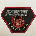 Accept - Patch - Accept: European Tour (Red Border)