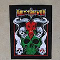 Bolt Thrower Cenotaph Embroidered BP  Patch