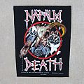Napalm Death - Patch - Napalm Death: Skull + Bombs BP
