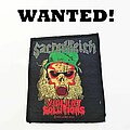 """Sacred Reich - Patch - WANTED: Sacred Reich """"Violent Solutions"""